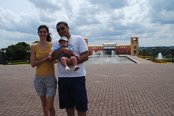 Os anfitriões em Curitiba